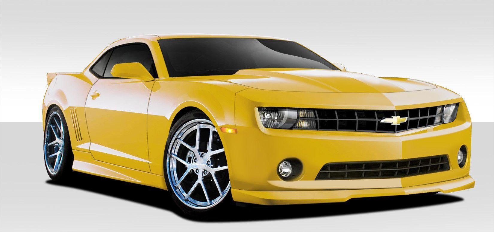 2010 2013 Chevrolet Camaro V6 Duraflex Gm X Body Kit 7 Piece