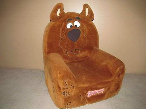 Scooby Doo Chair Boy High Chairs Child Size Foam Arm Plush Where Are