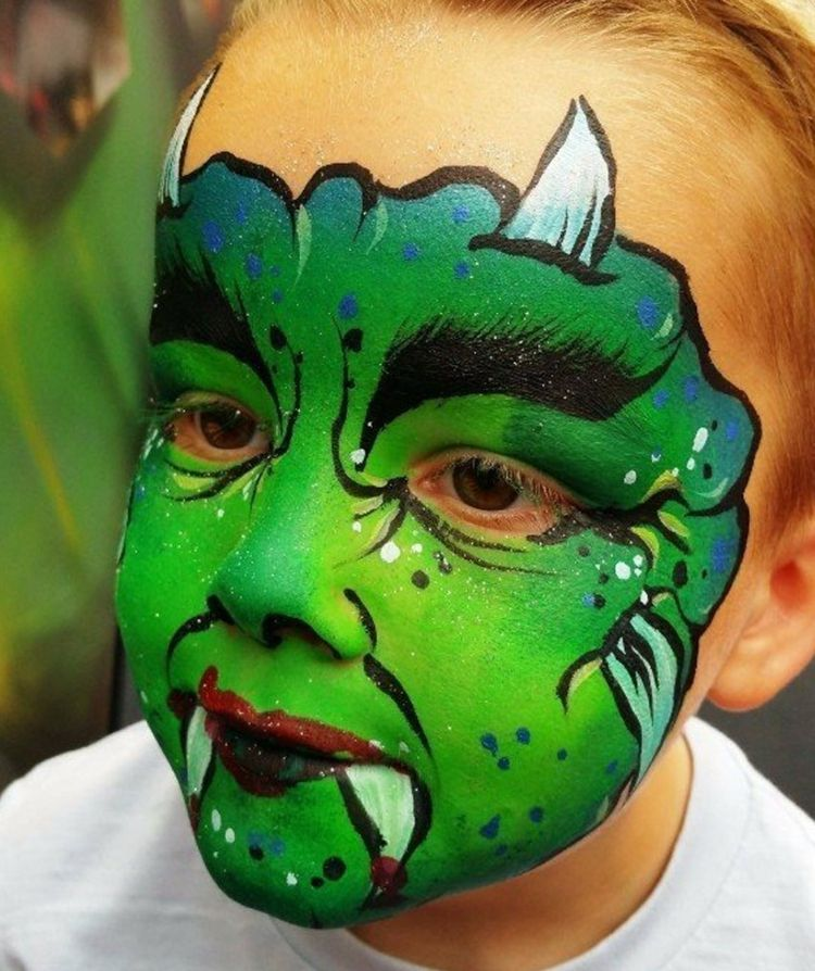 Kinderschminken Vorlagen Fur Fasching Halloween Ideen Und Tipps