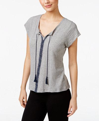 27.99$  Buy here - http://vixub.justgood.pw/vig/item.php?t=0tizlo4849 - Embroidered Pajama T-Shirt