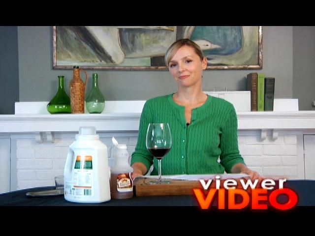 How To Get Rid Of Spilled Wine Using Apple Cider Vinegar