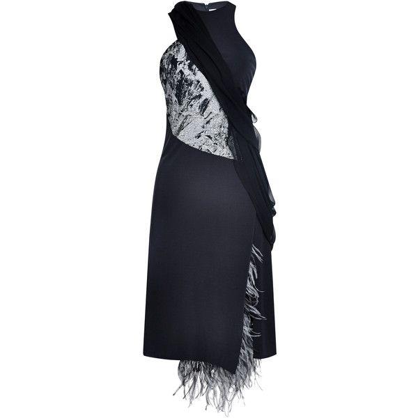 Discover Ideas About Gurung Dress Prabal Feather