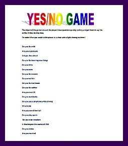 image regarding Printable Trunk Party Games referred to as printable commencement bash online games - sure/no video games Commencement