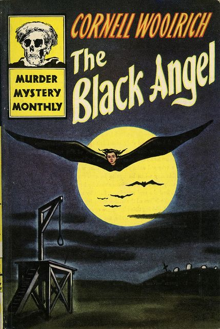 Image result for the black angel pulp cover