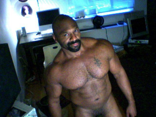 Hairy black daddy