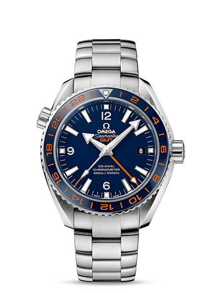 Omega Seamaster Planet Ocean GoodPlanet GMT Watch Watch Releases ... 4cd7594f254