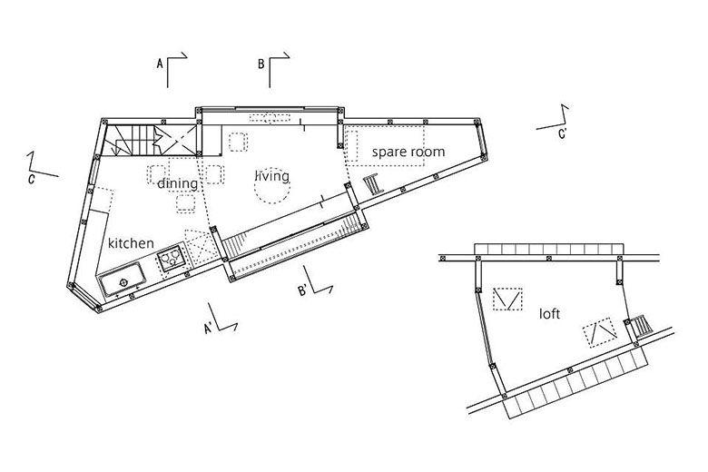 mizuishi-house-in-horinouchi-floor-plan2-via-smallhousebliss - plan de maisons modernes