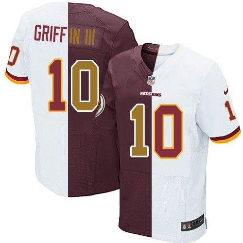 Robert Griffin III Men s Limited Team Alternate Two Tone Jersey  Nike NFL Washington  Redskins  10 ca7864aa2
