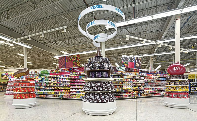 Image result for confectionery aisle merchandising | Candy ...