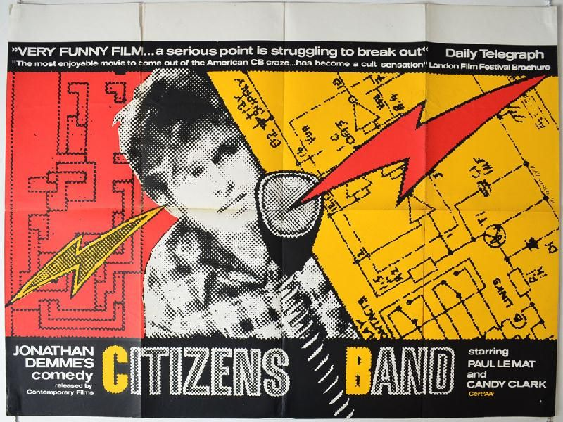 """Handle with Care (1977) aka """"Citizen's Band"""" Stars Paul"""