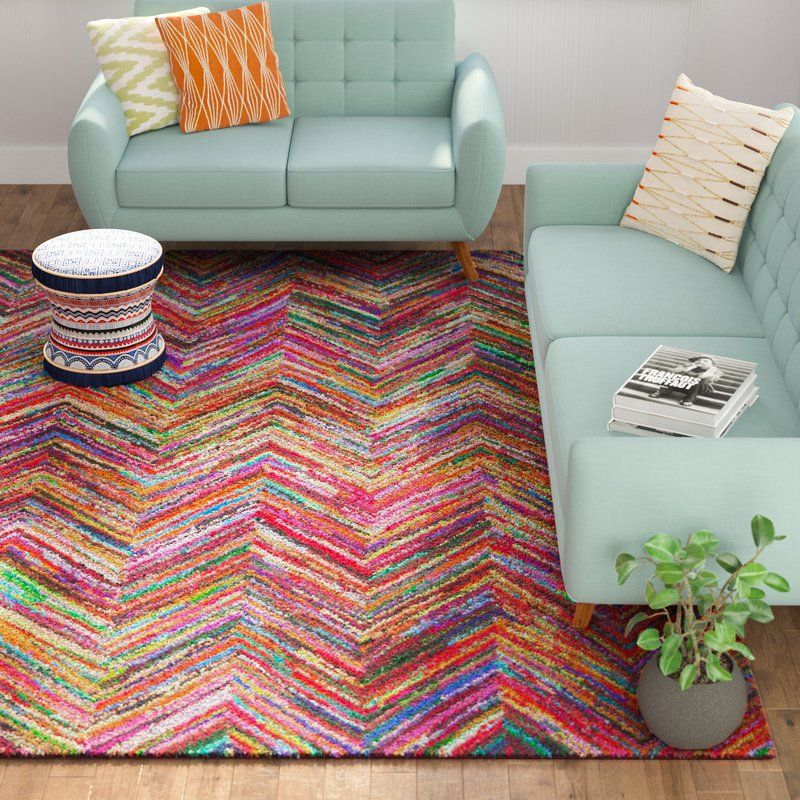 Barnes Hand Tufted Multi Colored Area Rug Draw The Eyes To Your Well Appointed Decor Ensemble With This Hand Tufted Area Boho Chic Living Room Rugs Area Rugs