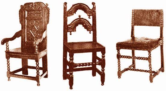 Delightful Furniture: Tudor Style Chairs