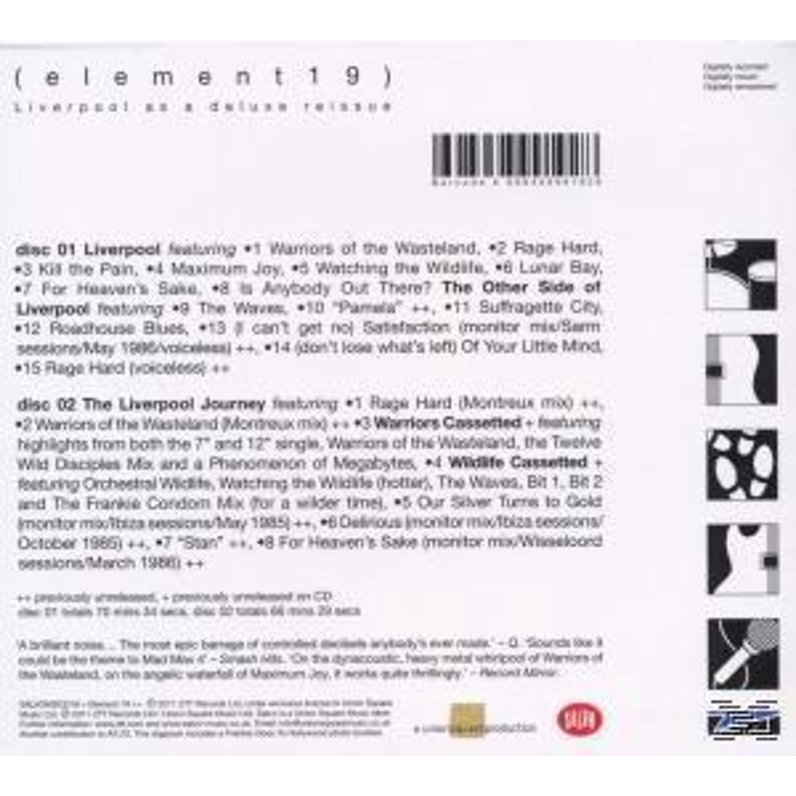 Frankie Goes To Hollywood - Liverpool (Deluxe 2cd Edition) CD], [^0698458991928 | eBay