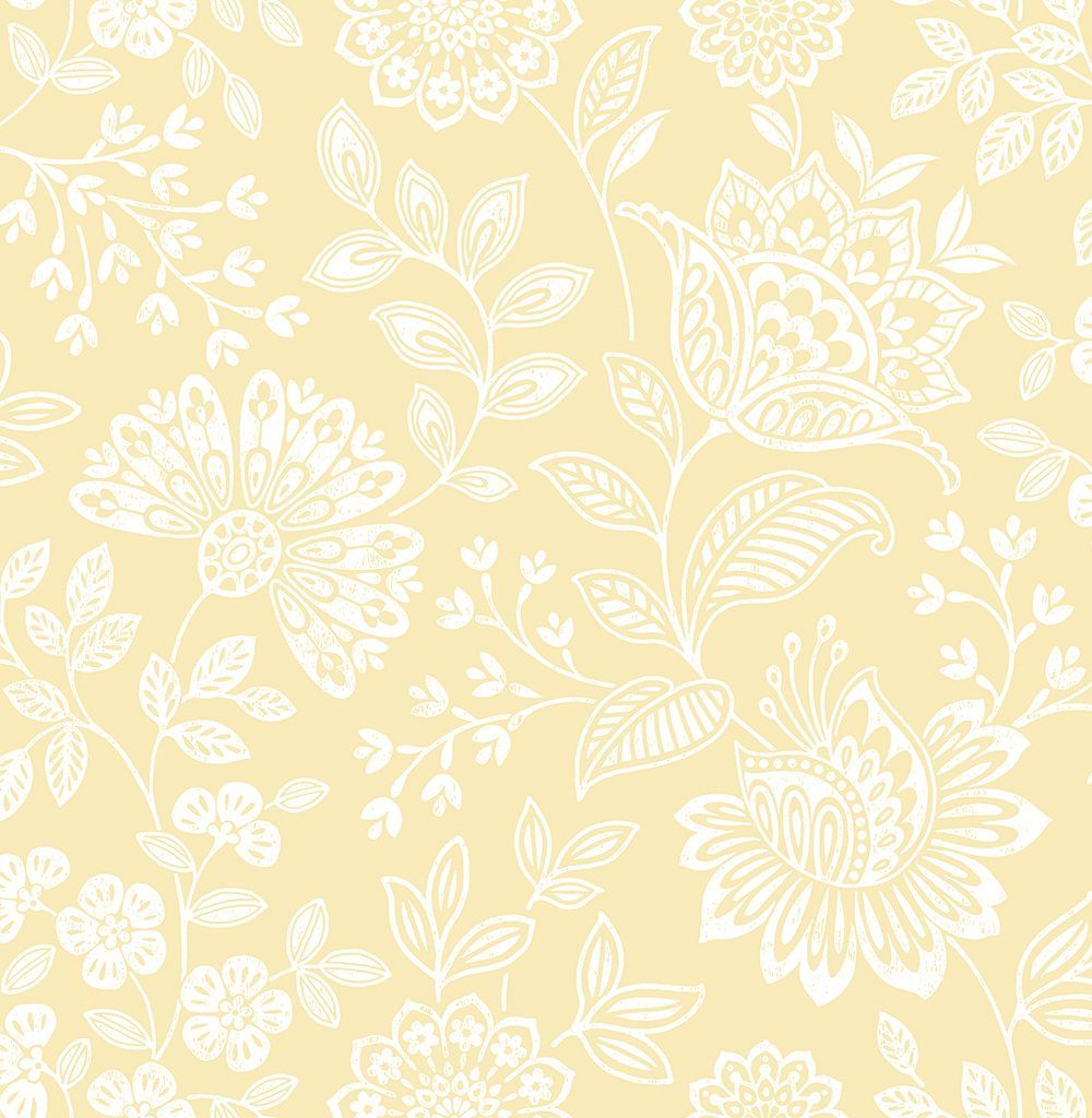 Isla Withdean White wallpaper by Albany