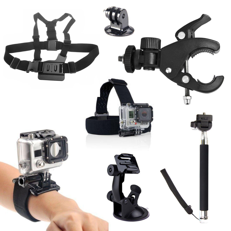 Gopro accessories kit 7 in 1 peyou sport camera