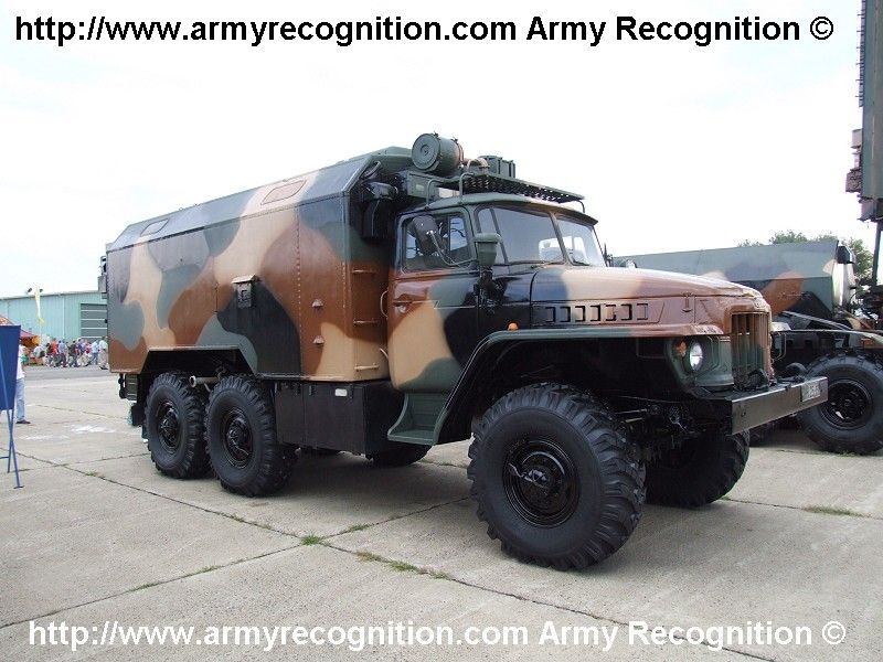 Hungarian Army P-18 radar command and communication truck ...