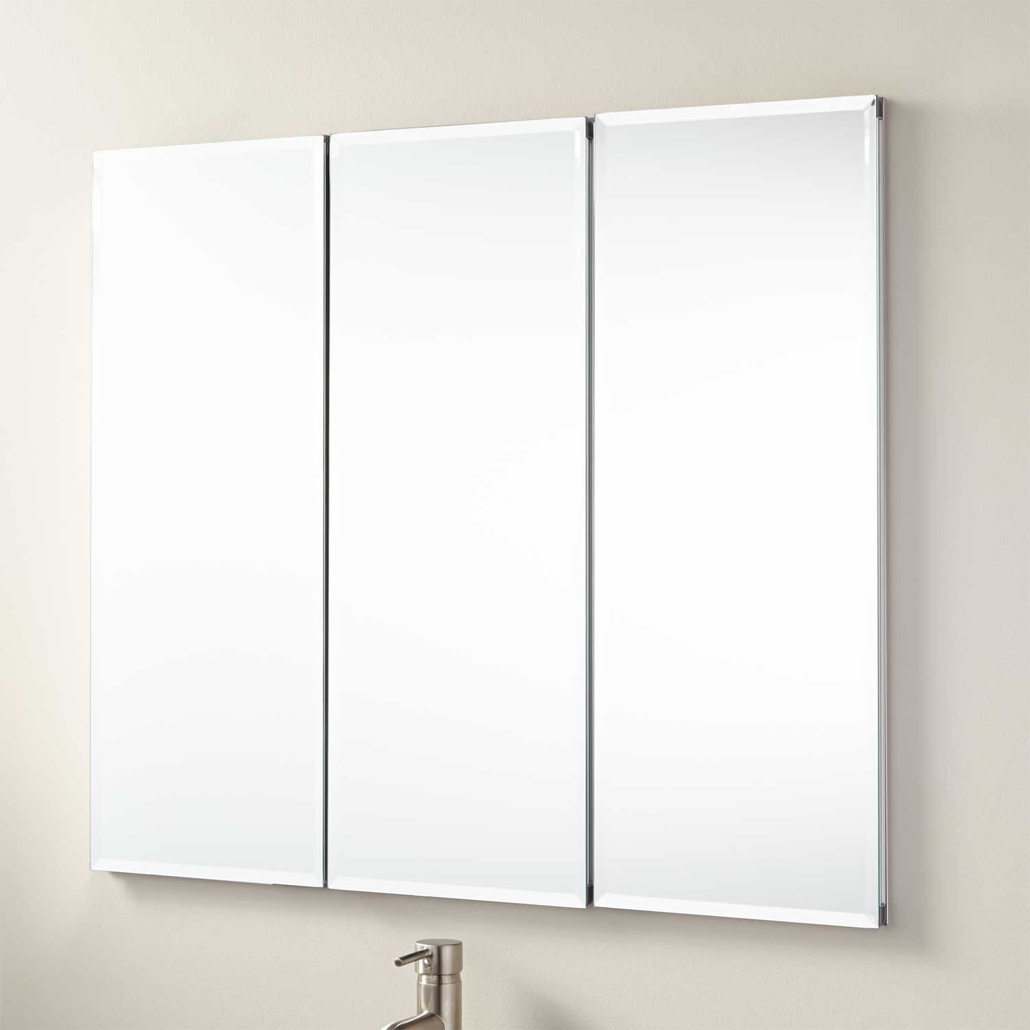 "36"" Longview Recessed Mount Medicine Cabinet  Bathroom Ideas Alluring Small Bathroom Medicine Cabinet Review"
