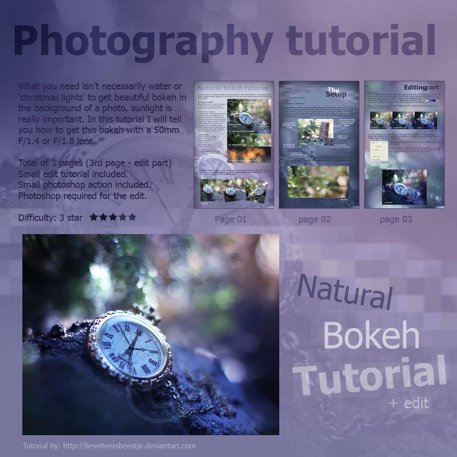 Photography natural bokeh tutorial by *lieveheersbeestje on deviantART