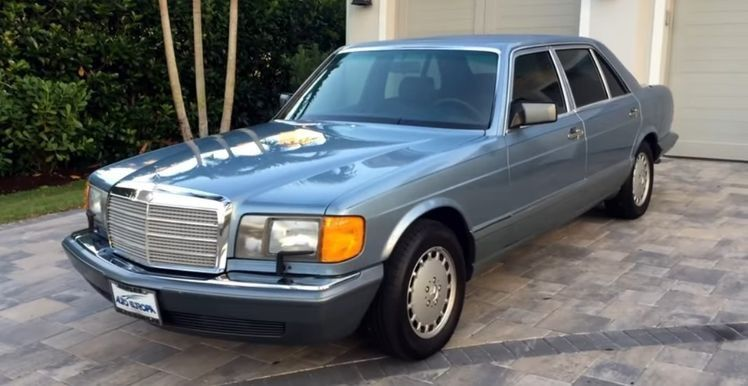 Mercedes Benz The Best Or Nothing W126 Mercedes Benz 560 Sel