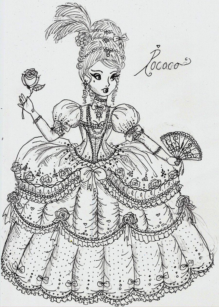 Rococo By Mirrei Deviantart Com On Deviantart Com Imagens