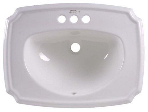 American Standard 0554 012 020 Antiquity Countertop Sink With 4