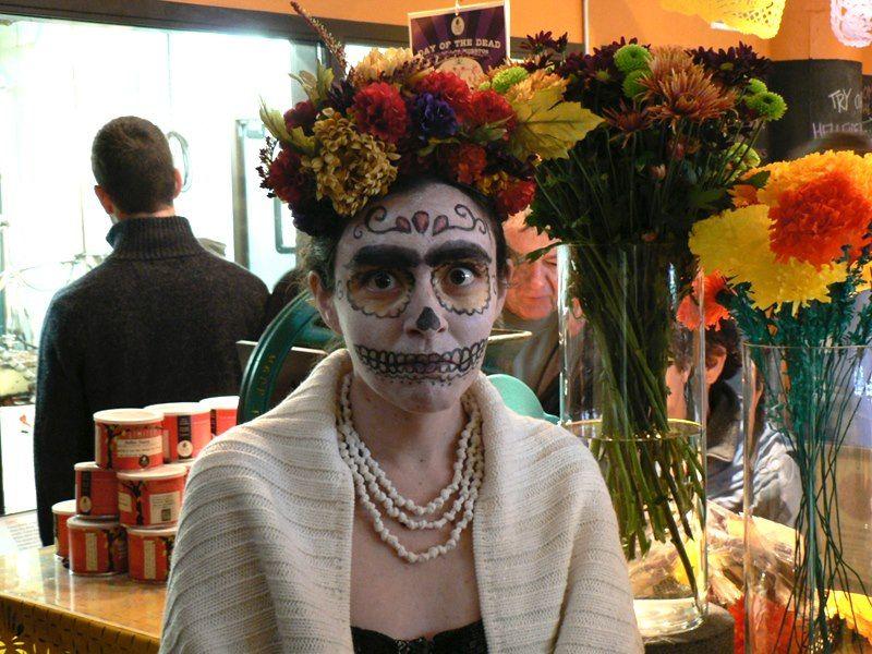 Frida Kahlo calavera -Catherine