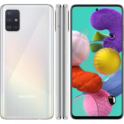 Samsung Galaxy A51 Prism Crush White 6gb In 2020 Samsung Galaxy Samsung Samsung Phone Cases