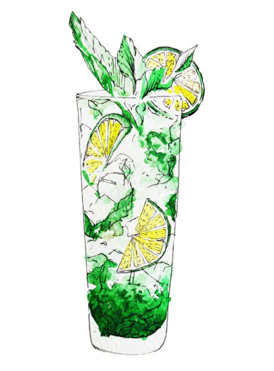 Essential Summer Cocktails for US Airways | Cocktail