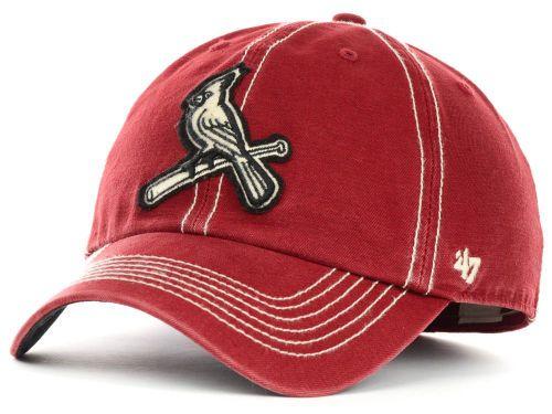 2fa7efdfea9 St. Louis Cardinals  47 Brand MLB Grafton Cap Hats