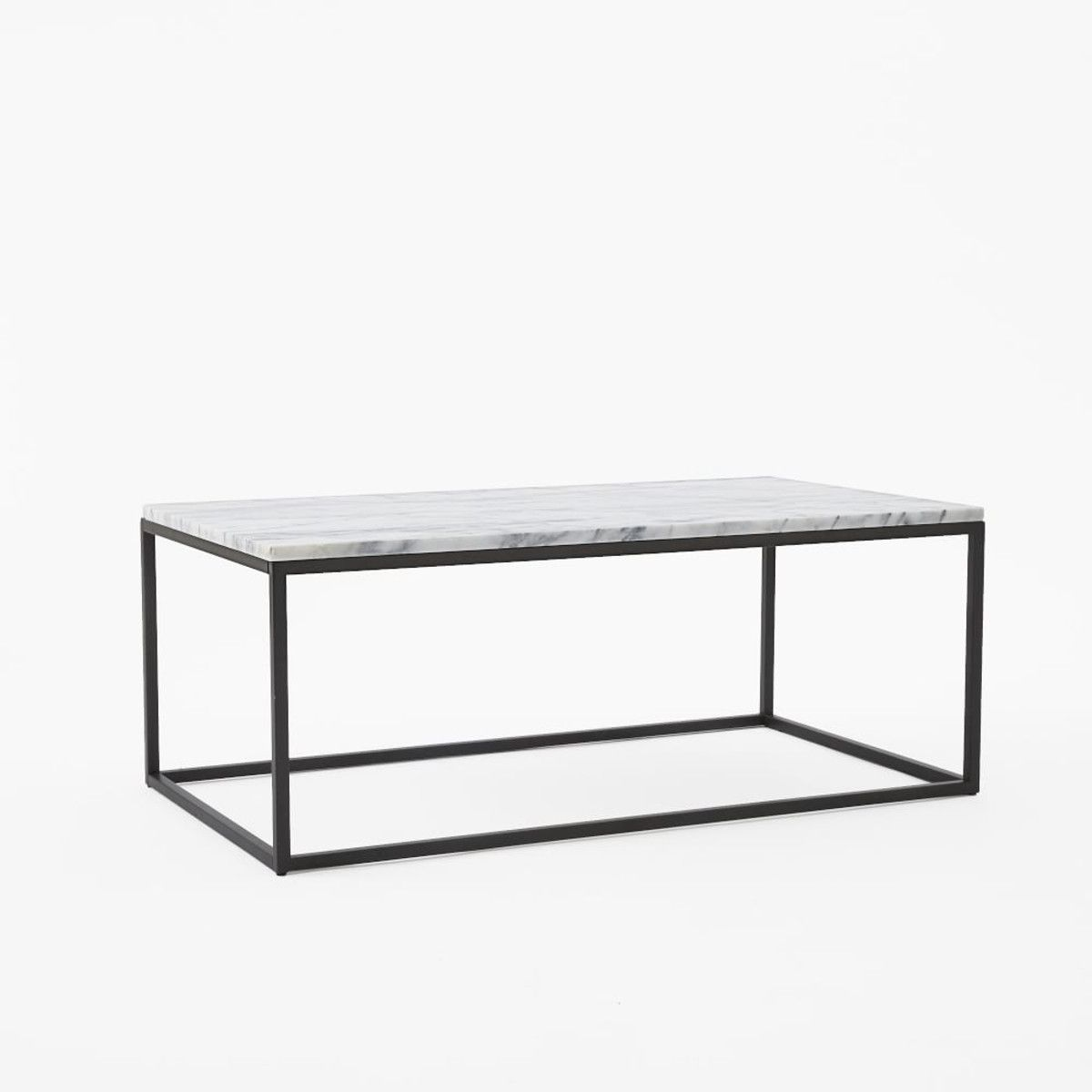 Superb Our Box Frame Coffee Tableu0027s Airy Base And Sleek Marble Top Add Instant  Glam To Your Living Room.