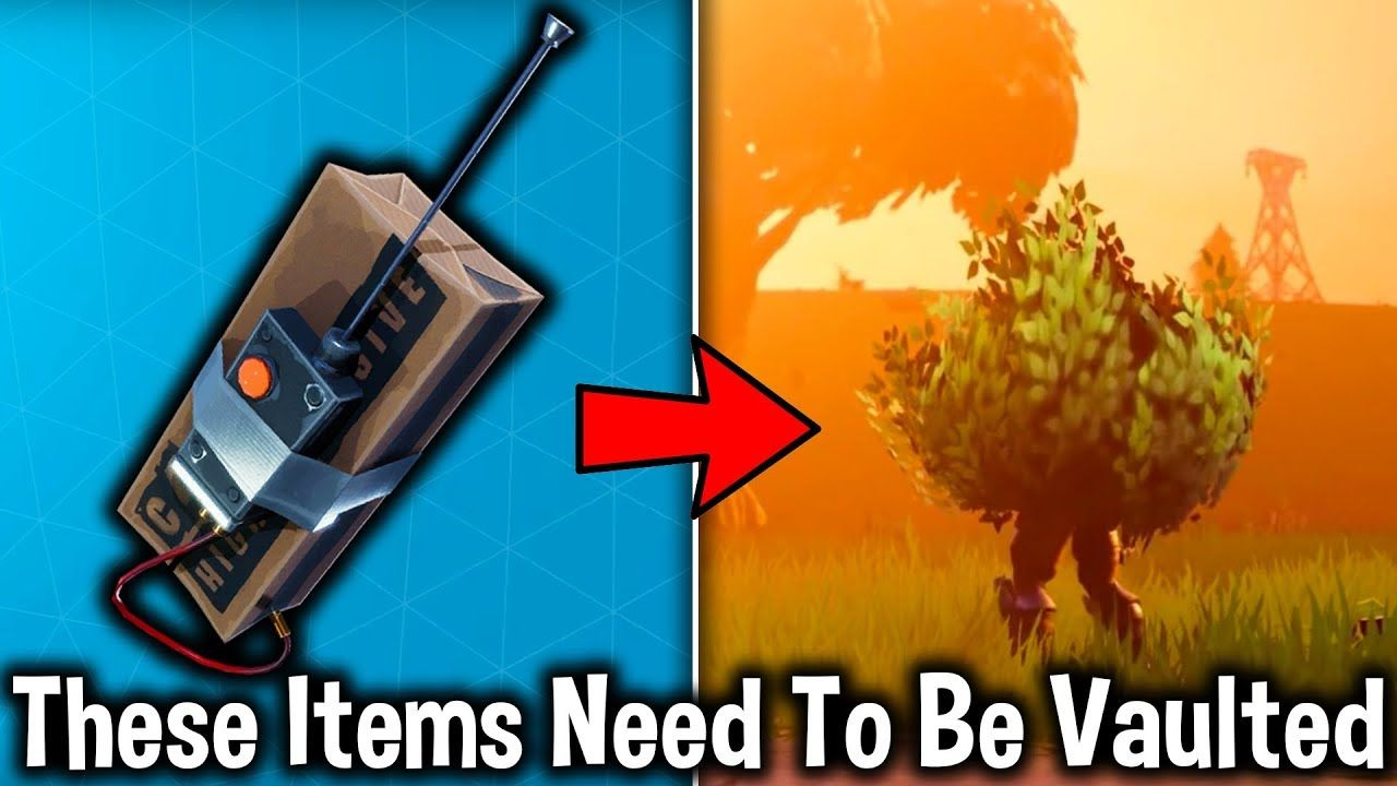 5 weapons that need to be vaulted in fortnite fortnite battle royale weapons battleroyale - vaulted fortnite guns