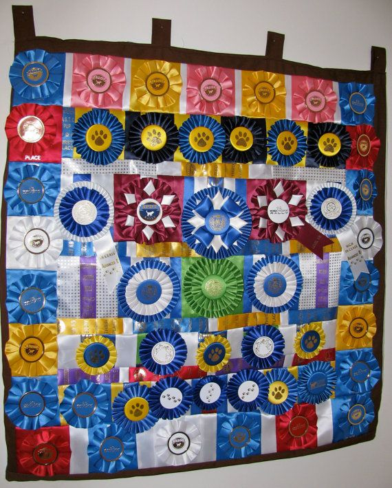 CUSTOM Rosette Quilt made with YOUR dog or by RosetteRedesigns