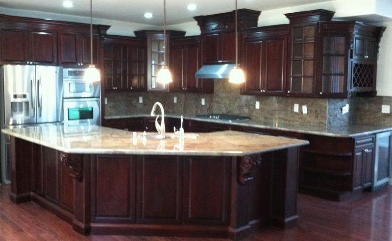 Dark Cherry Rta Cabinets From Best Online Cabinets Rta Kitchen Cabinets Quality Kitchen Cabinets Kitchen Improvements