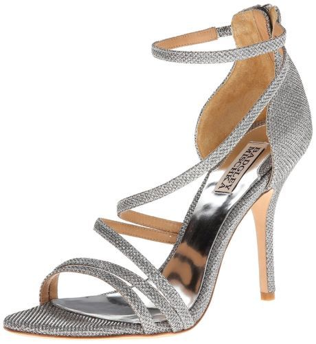 538c122d078 BADGLEY-MISCHKA-Womens-Landmark-Open-Toe-Ankle-Strap-D-orsay-Silver-Size -8-0-i