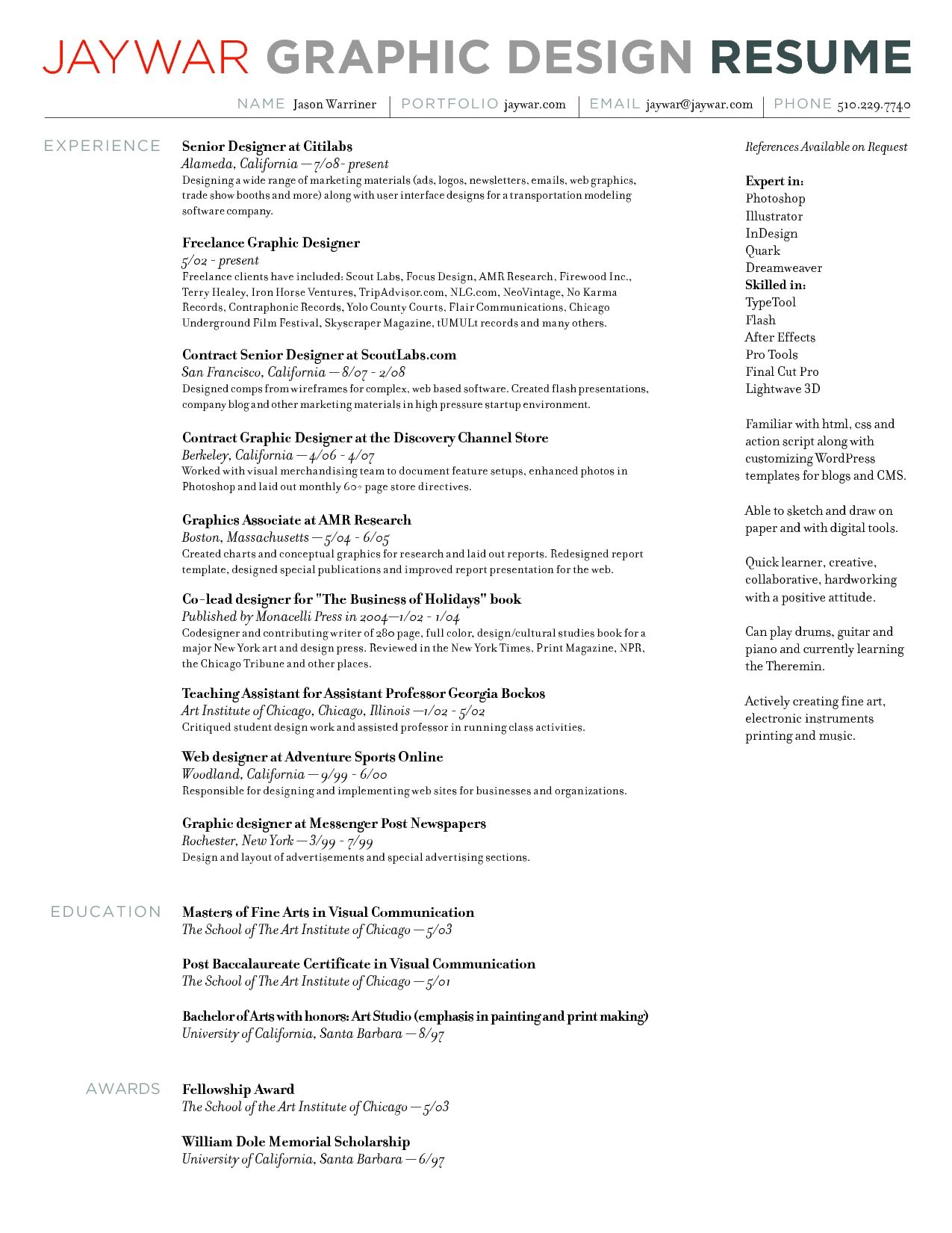 Graphic_Design_Resume_Sles_Designer_Sle_Gallery_Photos.jpg (1275 ...