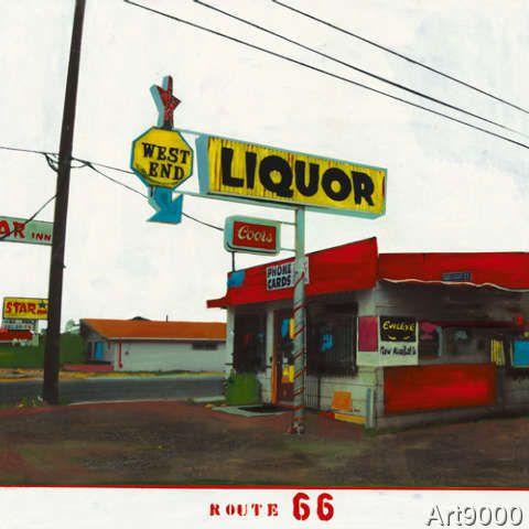 Ayline Olukman - Route 66 - West End Liquor