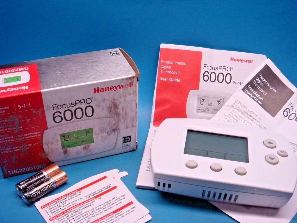 how to set honeywell dial thermostat temperature