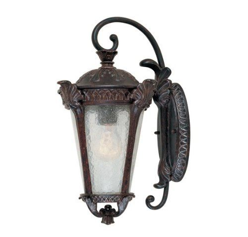Savoy House Pompia Distressed Bronze Wall Mount Lantern by Savoy House. $193.60. Distressed Bronze. 1 - E Bulbs. Taking exterior lighting design to a whole new level, this pristine outdoor wall lantern features graceful, yet sturdy design elements, including cast iron leaf ornaments, Distressed Bronze finish with intricately-etched details, and Pale Cream Textured glass. 5-667-59. Save 42%!