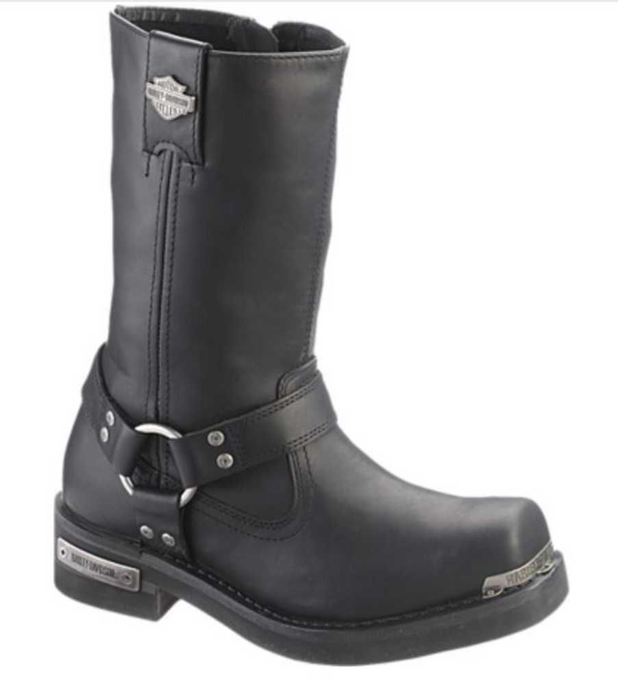 7a1769354b8 Harley-Davidson® Men's Landon 10-Inch Motorcycle Boots Black, Brown ...