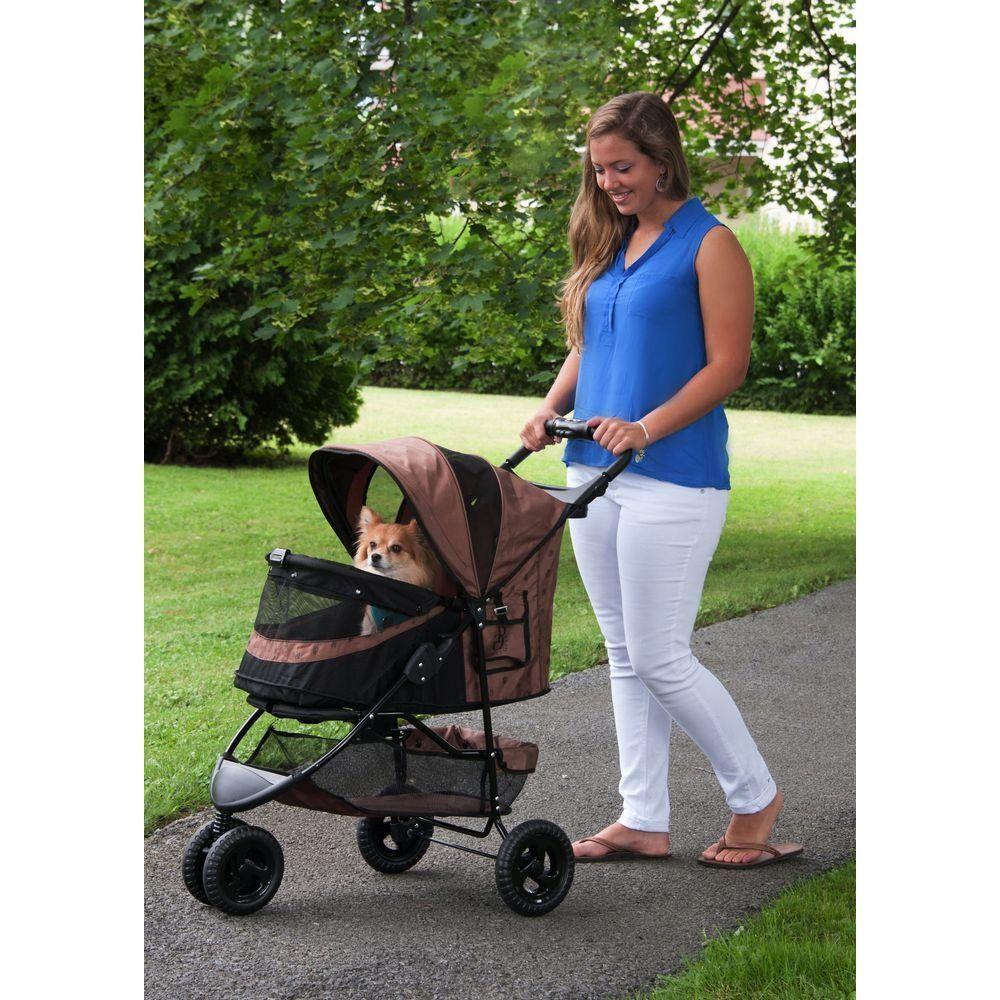 Pet Gear NoZip Special Edition 3 Wheel Pet Stroller for