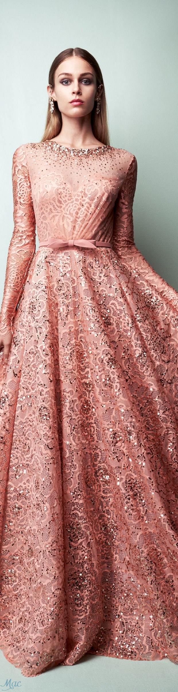 Spring 2017 Ready-to-Wear Georges Hobeika | Style | Pinterest | Alta ...