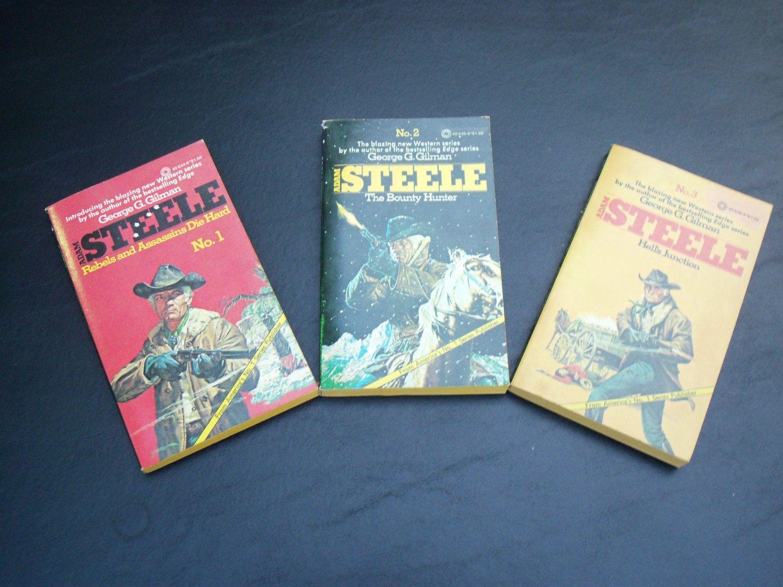 Adam Steele #1,2,3 by Stephsusedbooks on Etsy