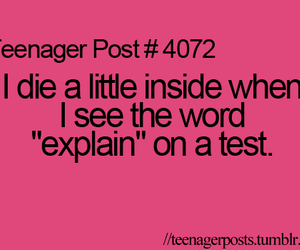 New Funny Teenager Posts Teenagerposts uploaded by   on We Heart It funny, test, and teenager post image 9