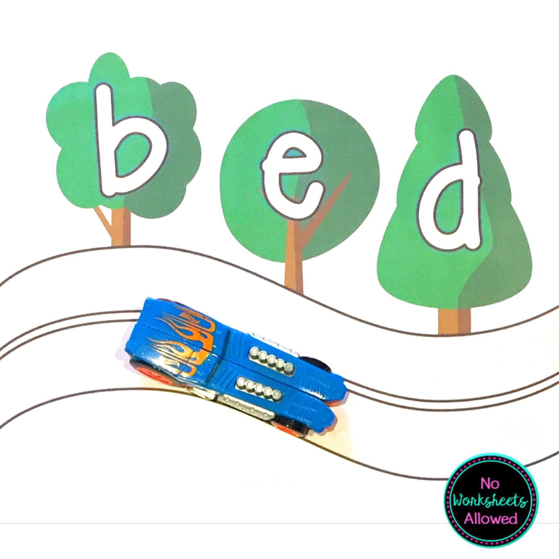 Cvc Words Phonics Blending Activity In With Images