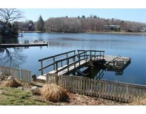 Waterfront Sanctuary !! New Gold Coast opportunity to renovate or build your waterfront home. Steps to Mill River Bridge,Lightkeepers Residence and inner harbor. Property includes a deep water dock and a guest house connected to town sewer .Surrounded by $$$$$homes and picturesque New England vistas in every direction.