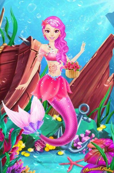 Pearl the PINK mermaid! ❤
