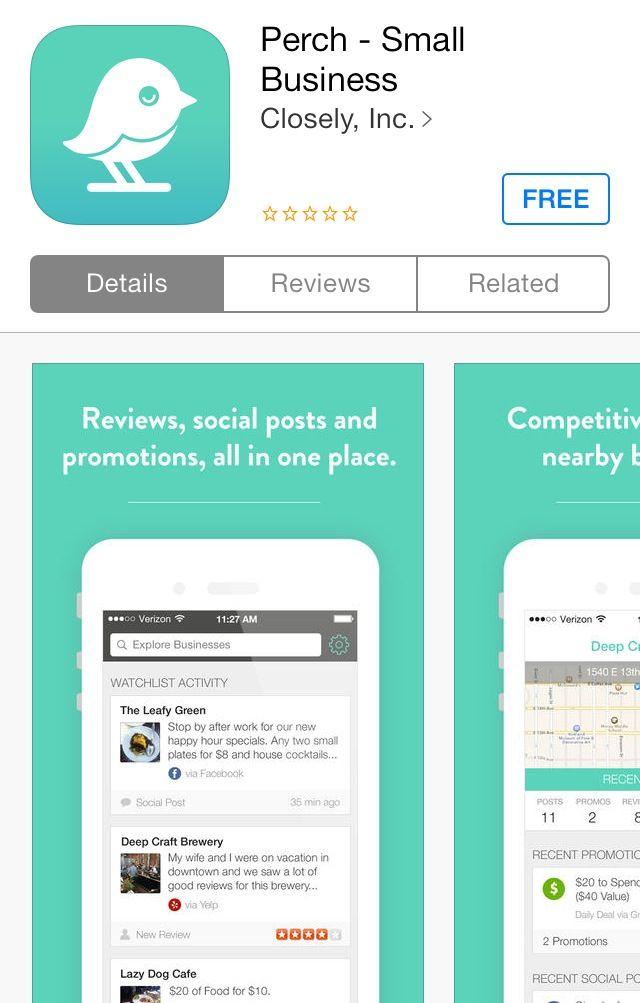 Social media monitoring app