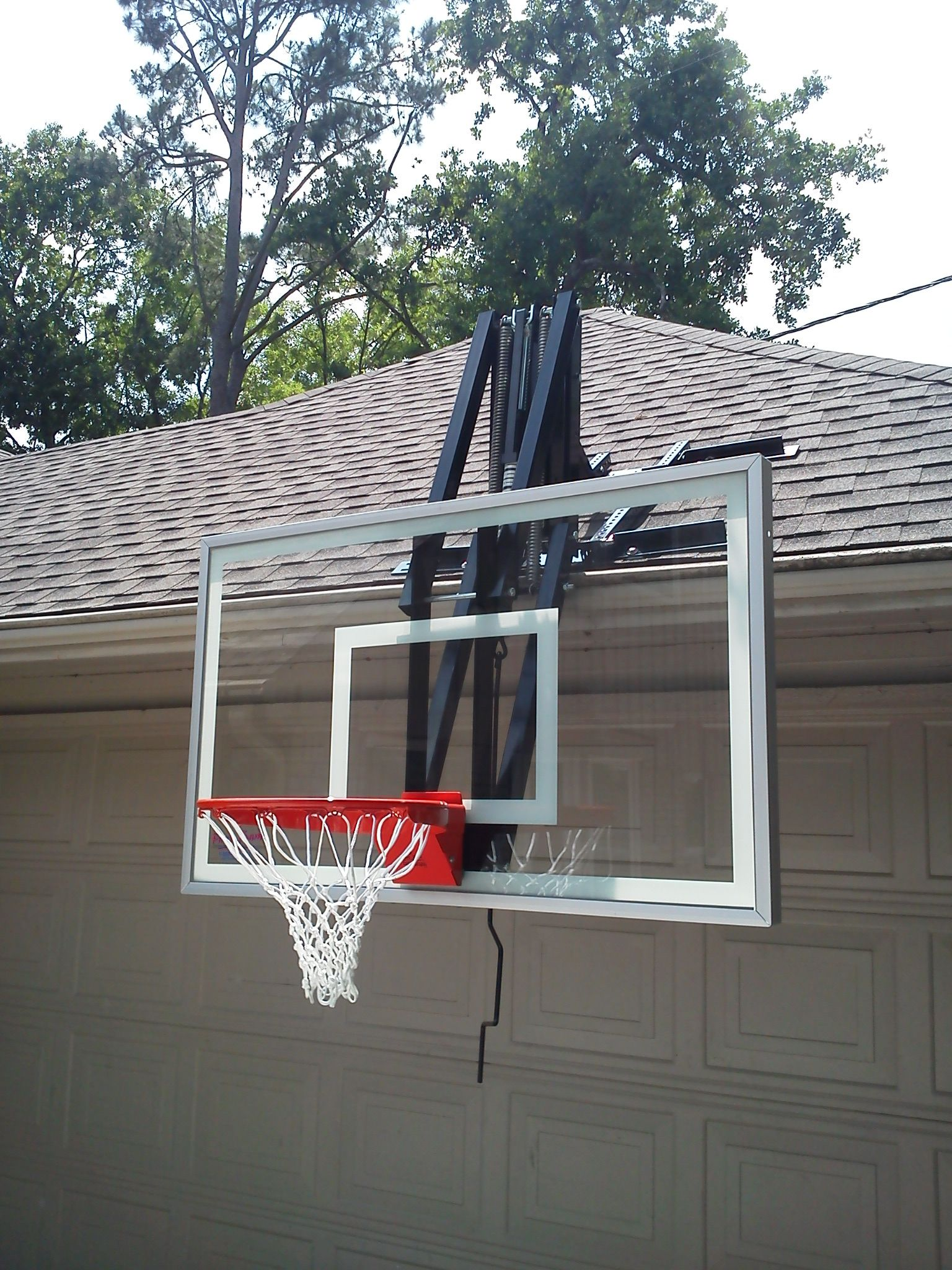 Roof Master Roof Mount Basketball System from DunRite P ...