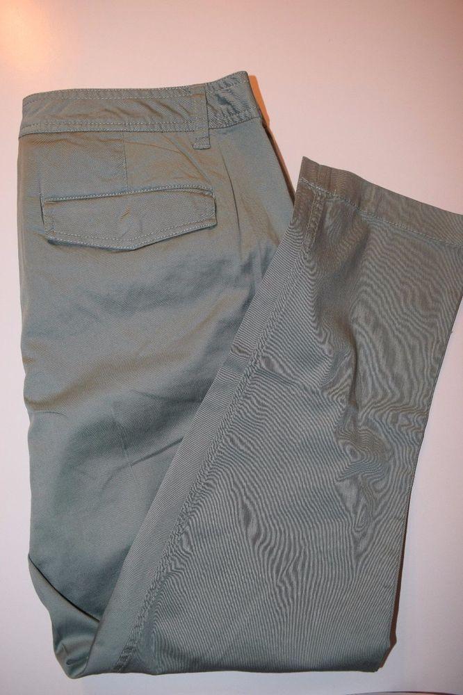 Marken-Jeans S.Oliver Damenhose Stretch-Hose 42 Mineralblau,Hellgrün in  Kleidung fc8f30e3a0