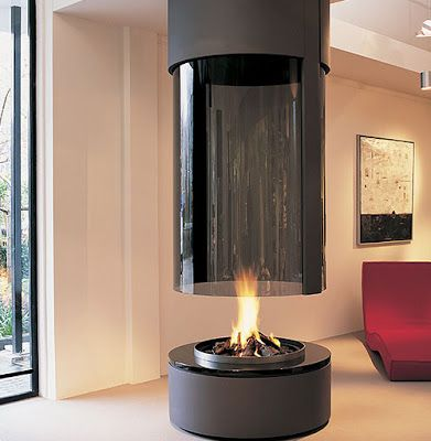 Round Free Standing Wood Gas Fireplaces Uk Home Design Design Modern